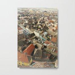 Sibiu Metal Print