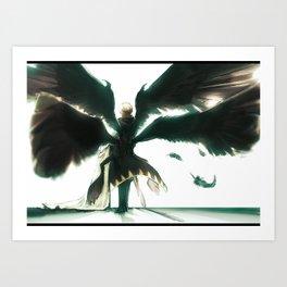 Wings of Despair Art Print
