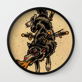 Rd.wolf Wall Clock