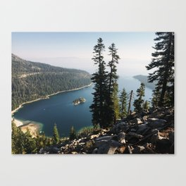 Emerald Bay from Desolation Wilderness Canvas Print