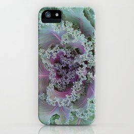 Cabbage Fractal iPhone Case