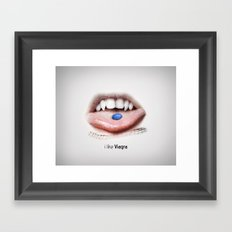 I LIKE VIAGRA  Framed Art Print
