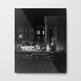 Black & White Subotica // Serbia Metal Print