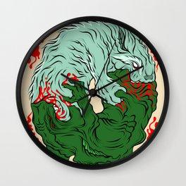 Beast Feast Wall Clock
