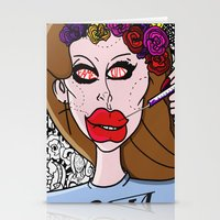 ultraviolence Stationery Cards featuring Fame Kills  by Luc Étrier