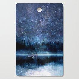 Night Sky Cutting Board