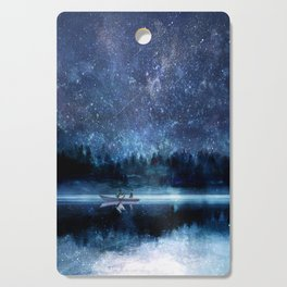 Night Sky Cutting Board