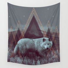 In Wildness | Wolf Wall Tapestry