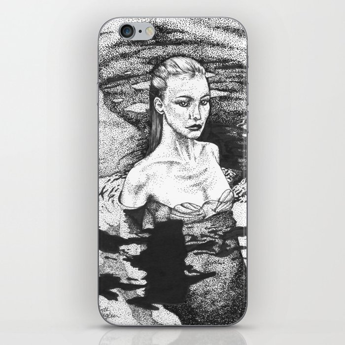 Rising From The Depths iPhone Skin