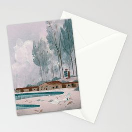 Poolside Stationery Cards