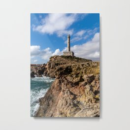 Cabo de Palos Lighthouse Metal Print