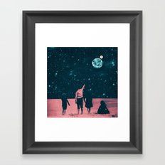 Once Upon A Time on Mars or Children of Mars Framed Art Print