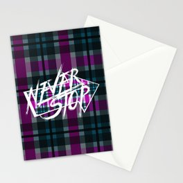Never Stop 3 Stationery Cards