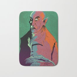 Nosferatu At Rest Bath Mat