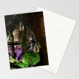Hanging Lightbulbs Stationery Cards
