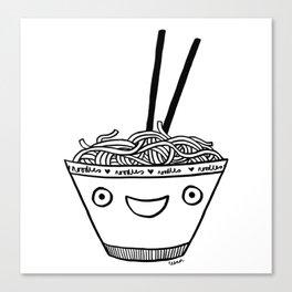 Happy Noodles Canvas Print