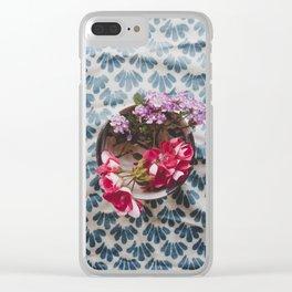 Flower Arrangement Clear iPhone Case