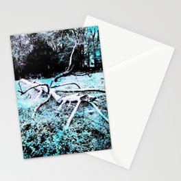 Death of a Tree Stationery Cards