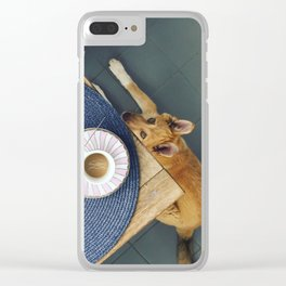 Ara the Dog Clear iPhone Case