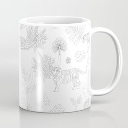 Tiger Jungle Coffee Mug