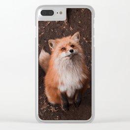 Fox village Clear iPhone Case