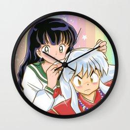 Inuyasha <3 Kagome Wall Clock
