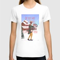 will ferrell T-shirts featuring Christmas Cheer / Elf by Earl of Grey