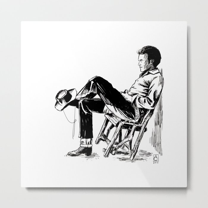 The Cowboy from the East Metal Print
