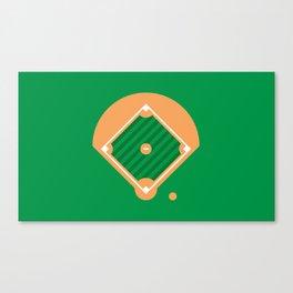New York Normal: Old Man Softball. Canvas Print