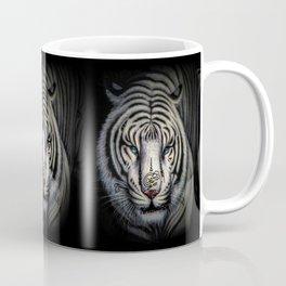 Buddhist Tiger Bai Hu with Yantra - Thailand Coffee Mug