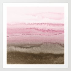 WITHIN THE TIDES STRAWBERRY CAPPUCCINO Art Print