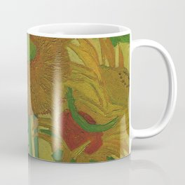 Van Gogh, sunflowers 2 – Van Gogh,Vincent Van Gogh,impressionist,post-impressionism,brushwork,paint Coffee Mug