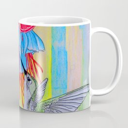 J Humming Bird Coffee Mug