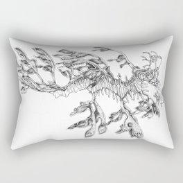 Leafy Sea Dragon Rectangular Pillow