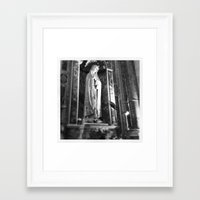 madonna Framed Art Prints featuring Madonna by raethom