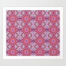 Painted Pattern Art Print