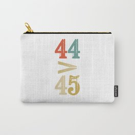 44 > 45 Anti Trump Impeach Carry-All Pouch