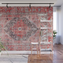 Vintage Anthropologie Farmhouse Traditional Boho Moroccan Style Texture Wall Mural
