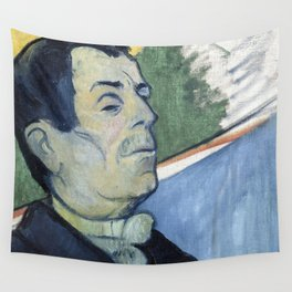 1888 - Gauguin -  Portrait of a man Wall Tapestry