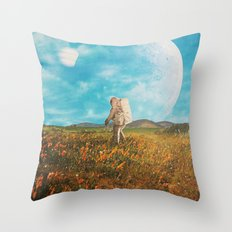 Landloping Throw Pillow