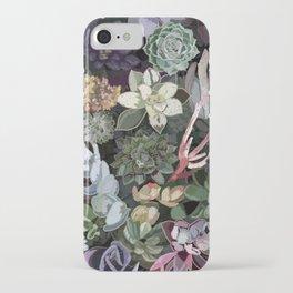 succulent garden iPhone Case