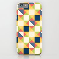 Colorful Triangle Pattern iPhone 6s Slim Case