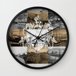 Historical Lyttelton White & Kraft Wall Clock