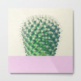 Cactus Dip II Metal Print