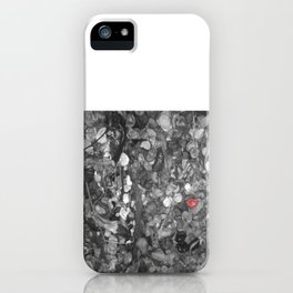 Post Alley Gum Wall iPhone Case