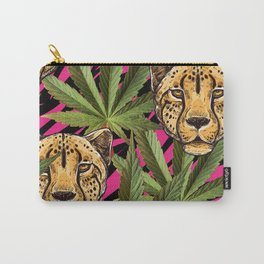 Cheetahs & Weed  Carry-All Pouch