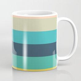Colorful Timeless Stripes Totetsu Coffee Mug