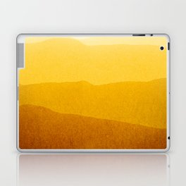 gradient landscape - sunshine edit Laptop & iPad Skin