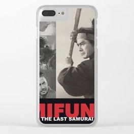 Mifune: The Last Samurai Clear iPhone Case
