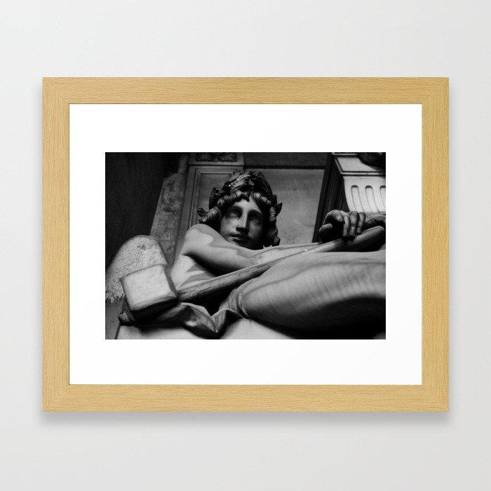The judgement Framed Art Print